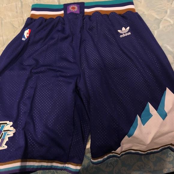 1800cbcee adidas Other - Adidas Utah Jazz Vintage Basketball Shorts